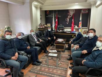 Aydın ve Fırat'dan İGC'ye anlamlı ziyaret
