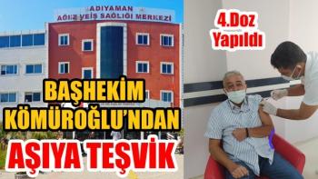Başhekim Kömüroğlu Vatandaşları Aşı'ya Davet Etti