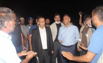 Başkan Dağtekin'in girişimleri ile 12 saat kapalı olan yol açıldı