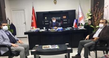 Başkan Dişkaya'dan Müdür Kıyas'a Ziyaret