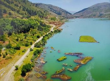 Çelikhan'ın asırlık yüzen adaları ziyaretçilerini bekliyor