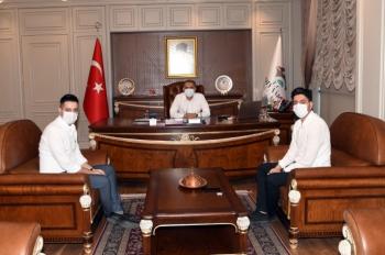 Dündar Hukuk Bürosundan Vali Çuhadar'a Ziyaret