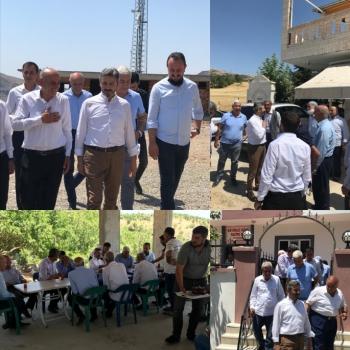 GMDK Başkanı Aydın ve beraberindeki Heyet Gerger'in köylerini ziyaret etti