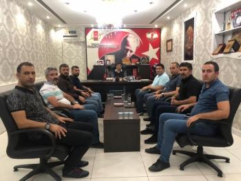 İGC'den AGAD Başkanı Aslan'a nezaket ziyareti