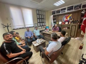 İGC'den GAP Gazeteciler Birliği Genel Merkezine Ziyaret