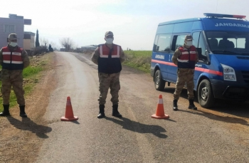 Kahta'da Erikdere köyü karantinaya alındı