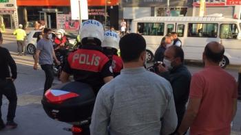 Maske kuralına direnen kişi gözaltına alındı