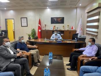 Milletvekili Aydın'dan Başhekim Parlak'a hayırlı olsun ziyareti