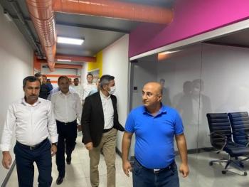 Başkan Aydın Kahta´da gazetecilerle bir araya geldi