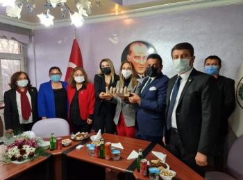Nazlıaka'dan Başkan Yıldırım'a ziyaret