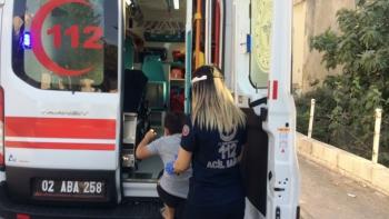 Prize parmağını sokan çocuk elektrik akımına kapılarak yaralandı