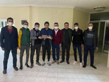 YAMANBOYS taraftar grubundan Destek Ziyareti