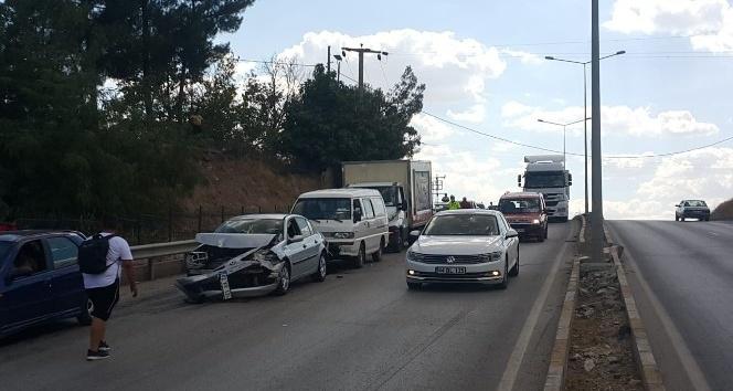 Köprüde zincirleme trafik kazası