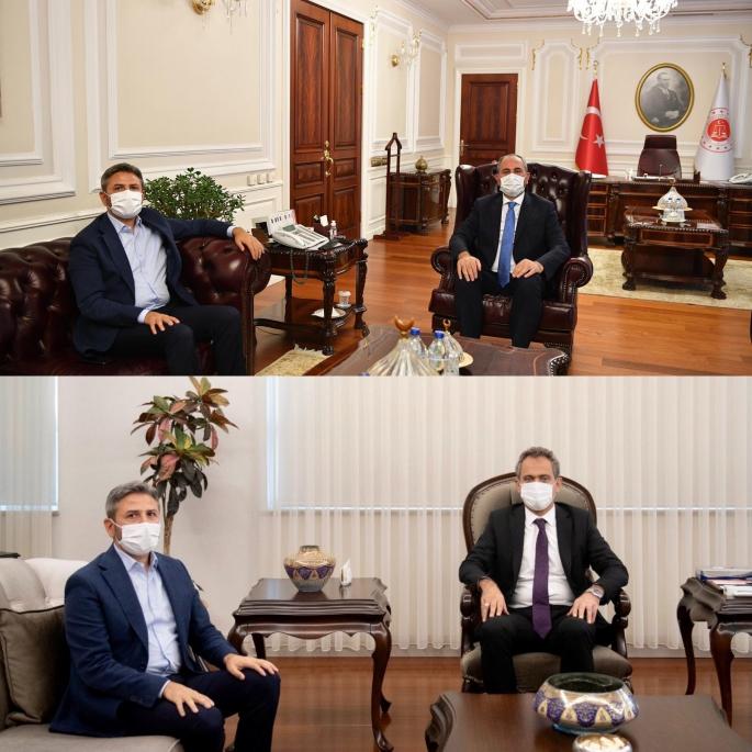 Milletvekili Aydın Bakan Özer'i ve Gül'ü Ziyaret Etti
