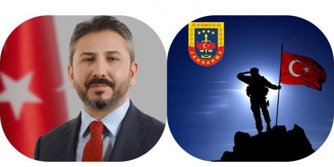 Milletvekili Aydın'dan Jandarma Teşkilatı'nın 182. kuruluş yıldönümü mesajı