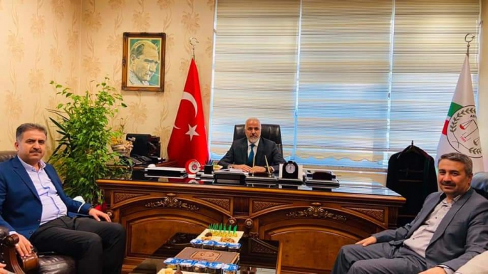 Milletvekili Fırat'tan, Baro Başkanı Doğan'a Ziyaret