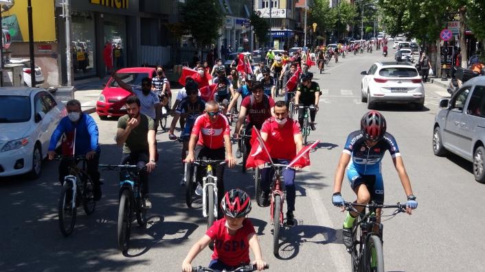 19 Mayıs´ta bisiklet turu düzenlendi