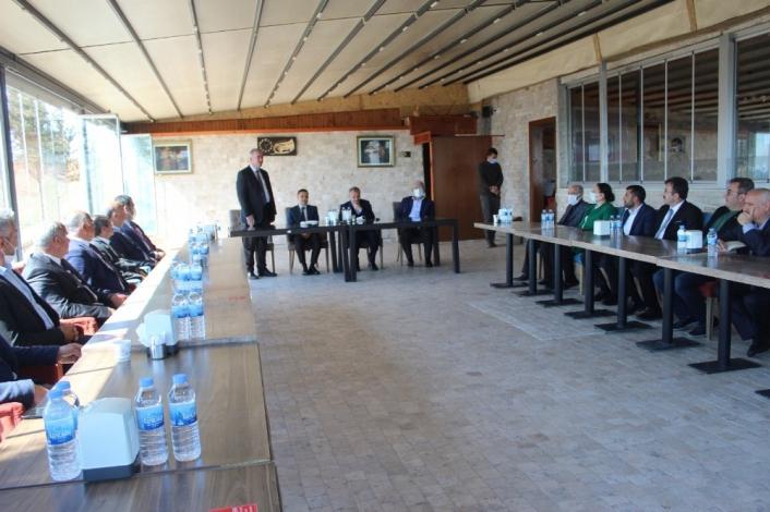 Adıyaman Belediyeler Birliği toplantısı Kahta´da yapıldı