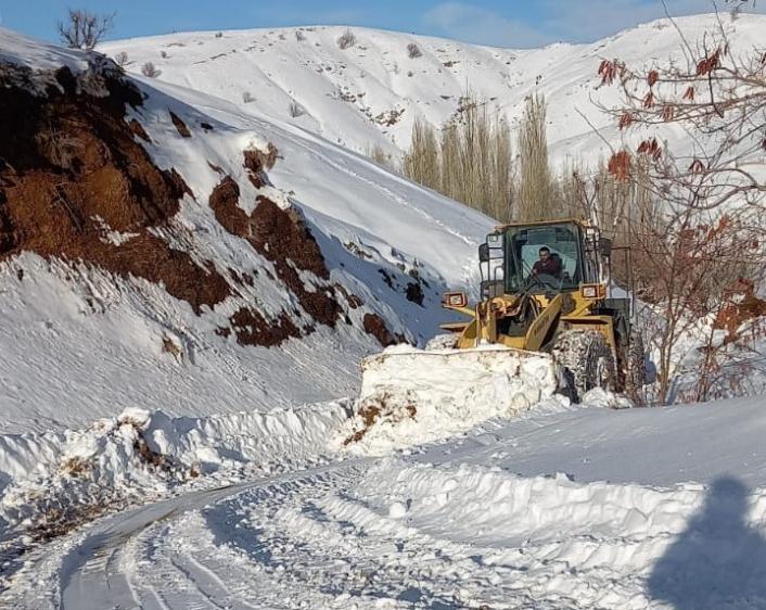 Adıyaman´da 9 köy yolu ulaşıma kapandı