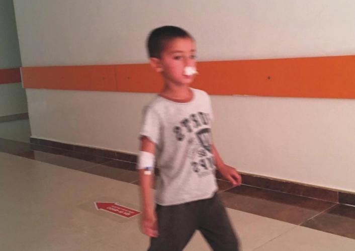 Adıyaman´da atın teptiği çocuk yaralandı