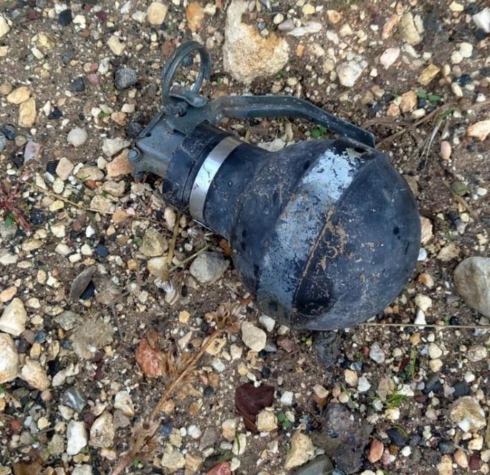 Adıyaman´da gaz bombası bulundu