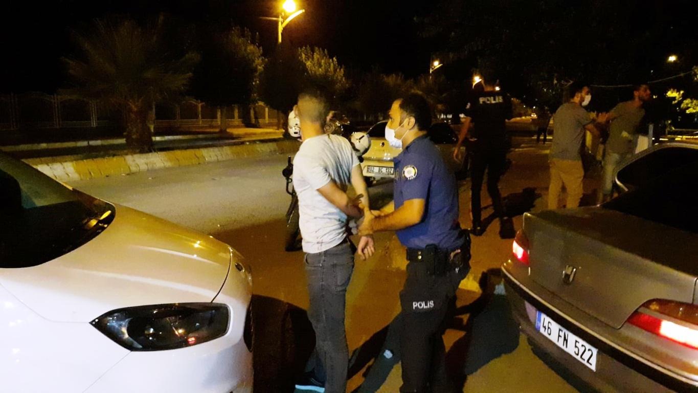 Adıyaman'da iki grup arasında kavga: 1 yaralı 5 gözaltı