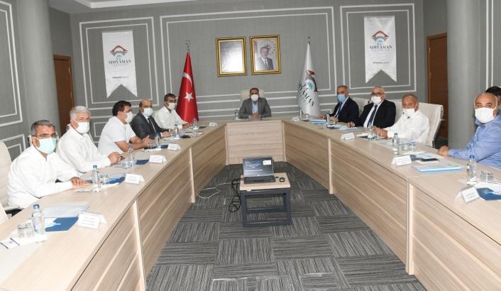 Adıyaman´da kamu-üniversite ve sanayi işbirliği geliştirme toplantısı yapıldı