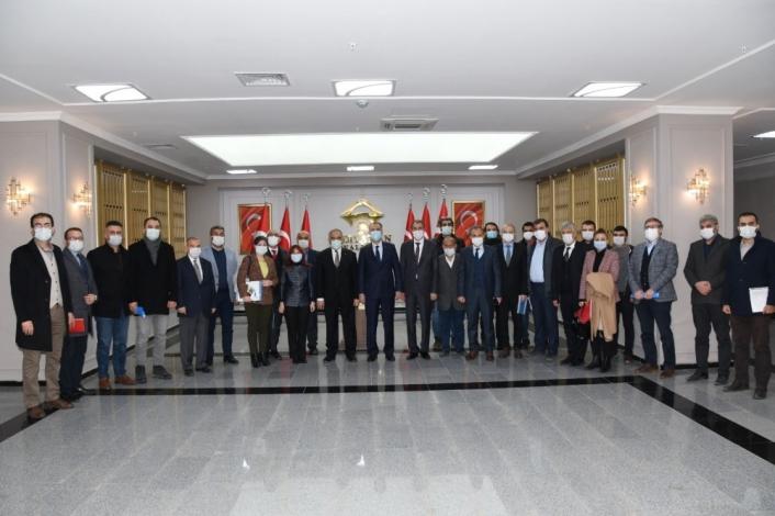 Adıyaman´da kamu-üniversite ve sanayi işbirliği toplantısı yapıldı