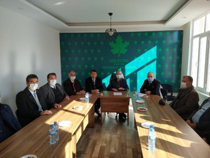 Adıyaman´da muhalefet partilerinden ortak deklarasyon