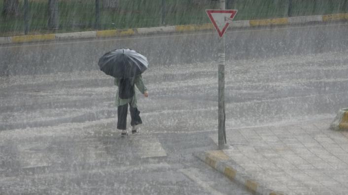 Adıyaman´da şiddetli yağmur