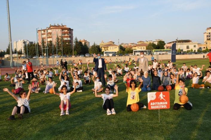 Adıyaman´da yaz spor okullarının açılışı yapıldı