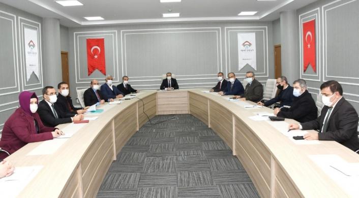 Adıyaman il istihdam kurulu toplantısı yapıldı