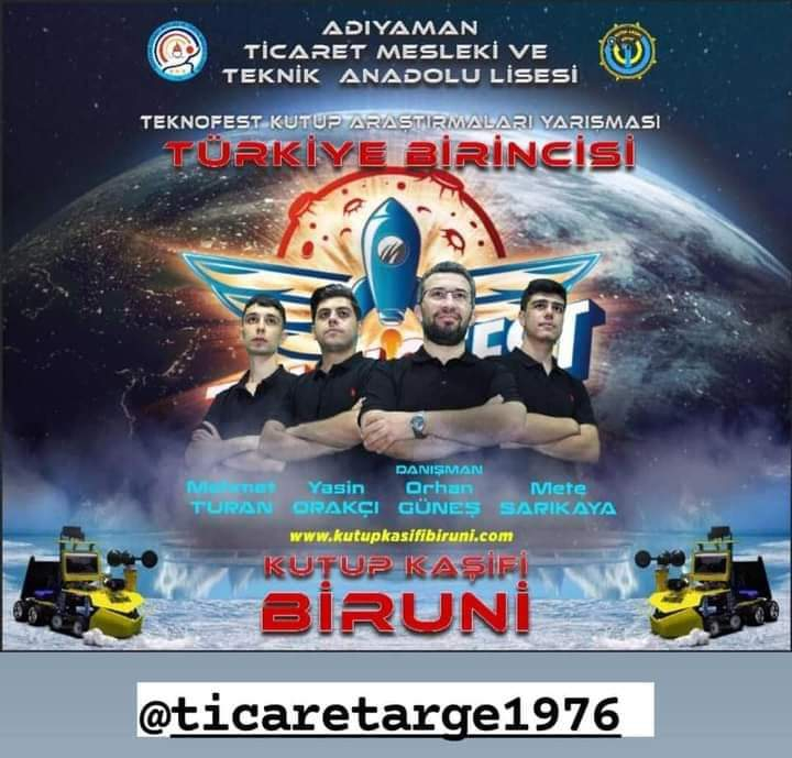 Adıyaman'ın Mucitleri TEKNOFEST 2021'de Türkiye Birincisi