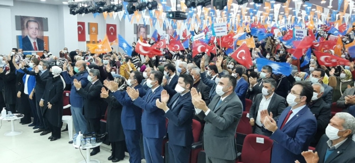 AK Parti Adıyaman İl Kadın Kolları kongresi yapıldı