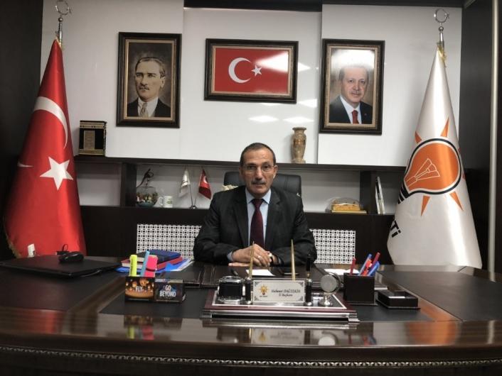 AK Parti İl Başkanı Dağtekin´den İYİ Parti il Başkanı Doğan´a tepki