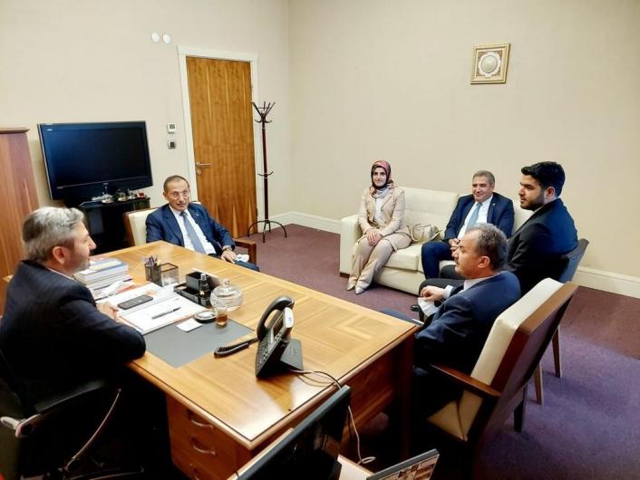 AK Parti teşkilatı Milletvekili Aydın ile bir araya geldi