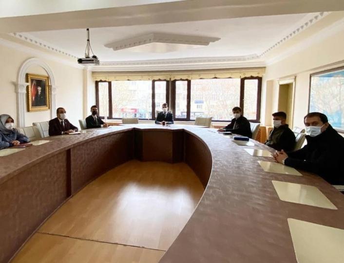 Av komisyonu toplantısı gerçekleştirildi
