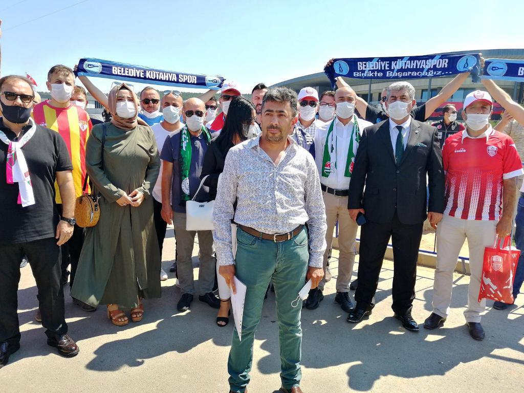 Aybak TFF'nin tescil kararını protesto etti