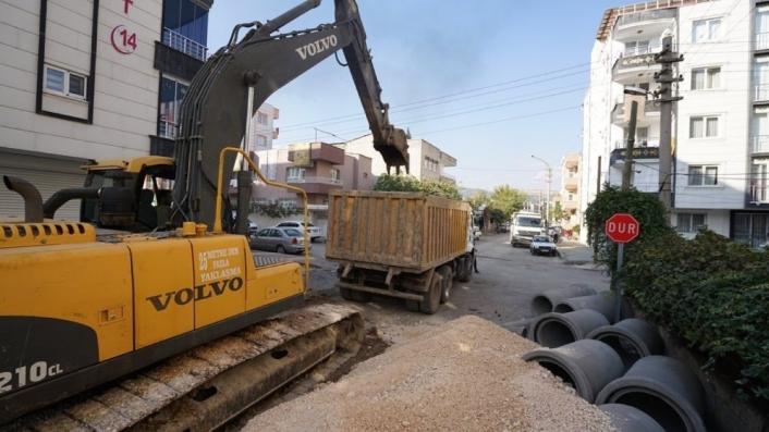 Barbaros Hayrettin Mahallesinin de altyapısı yenileniyor