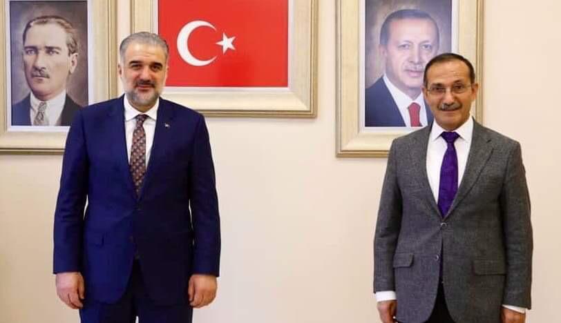 Başkan Dağtekin İstanbul İl Başkanlığında