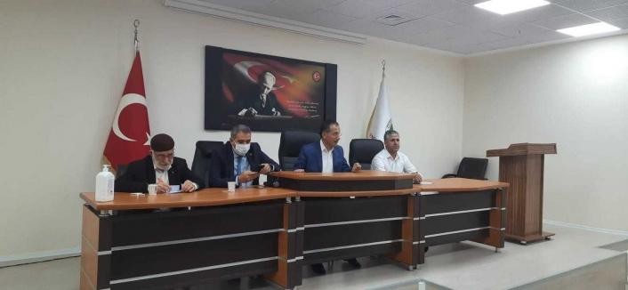 Başkan Dağtekin il genel meclis üyeleriyle bir araya geldi