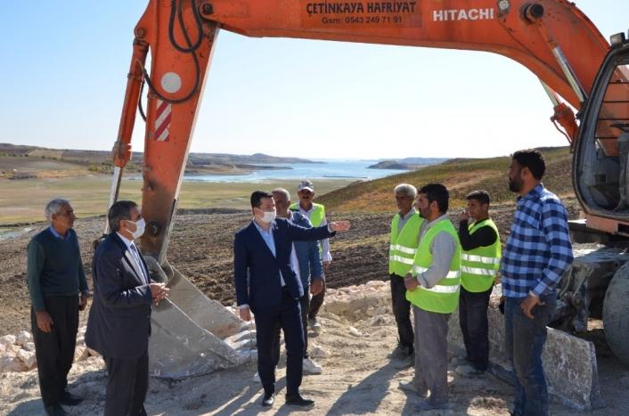 Başkan Erdoğan yol çalışmalarını yerinde inceledi