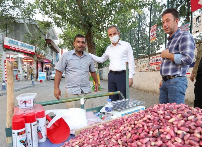 Başkan Kılınç, Buhara Caddesi esnafını ziyaret etti
