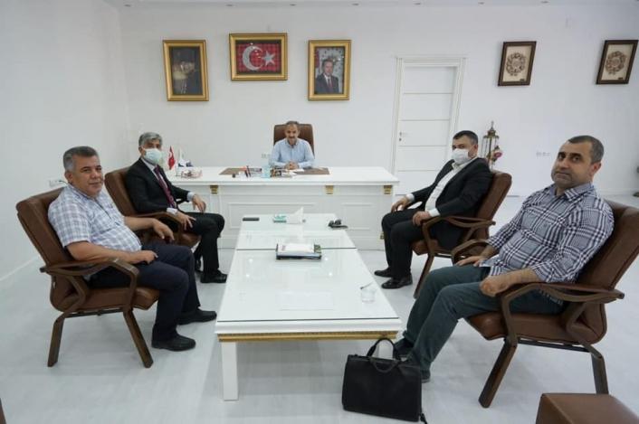 Başkan Kılınç, tarımsal yatırımlar için istişarelerde bulundu