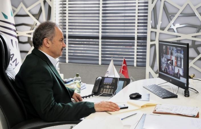 Başkan Kılınç, yenilenebilir ve akıllı enerji uygulamaları toplantısına katıldı