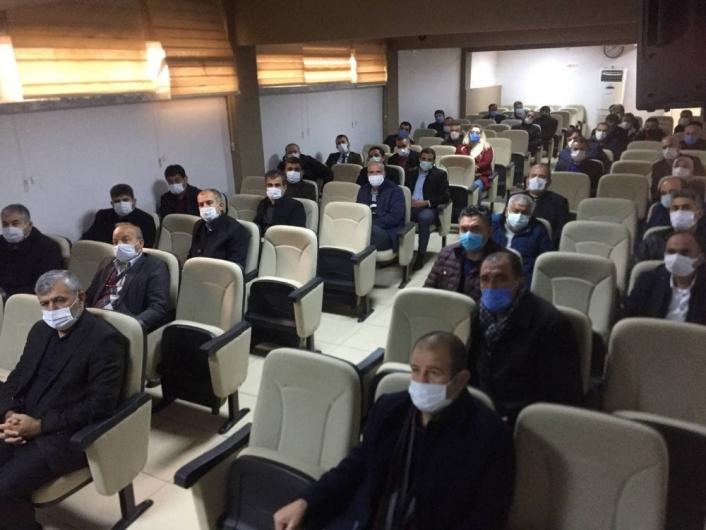 Besni´de 2.dönem eğitim kurumları müdürleri toplantısı yapıldı