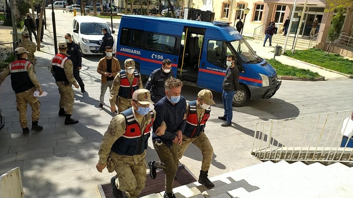 Besni'de Cinayet zanlıları tutuklandı