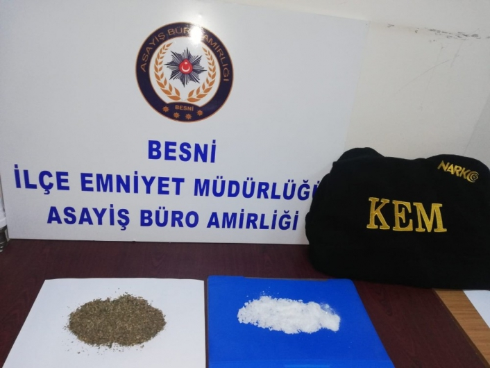 Adıyaman'da Uyuşturucu Operasyonu; 2 Gözaltı