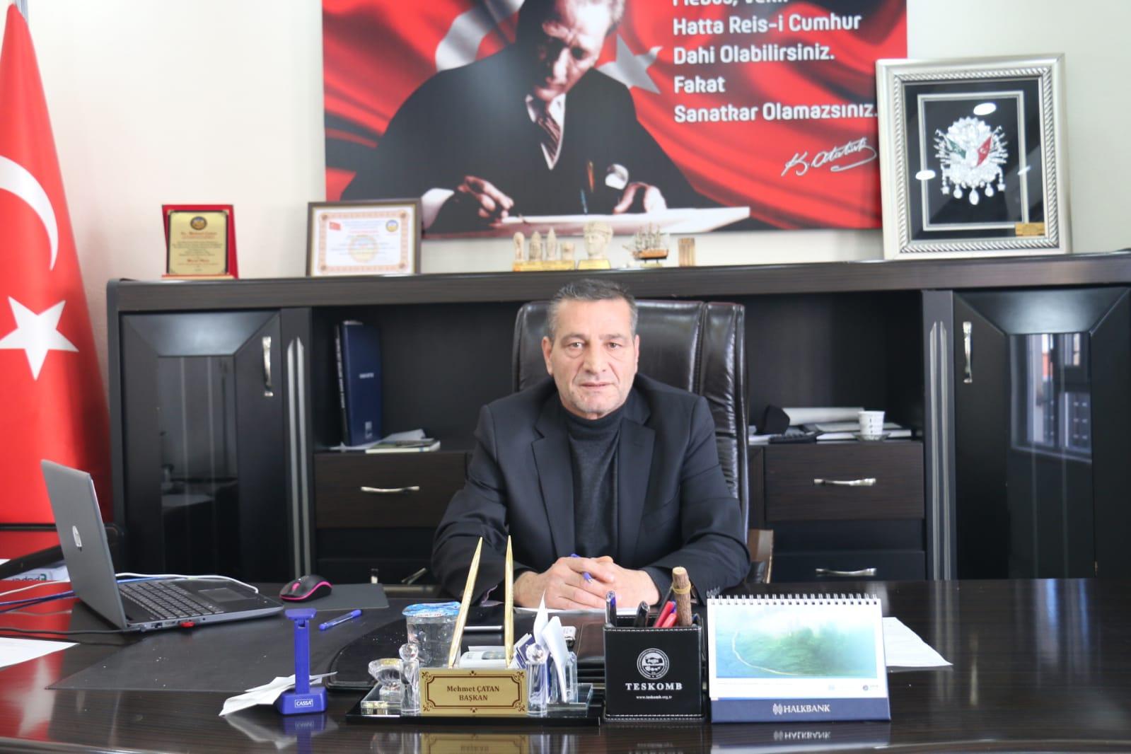 Çatan: Esnaf Zor Durumda Devlet Her Esnafa Can Suyu Vermeli