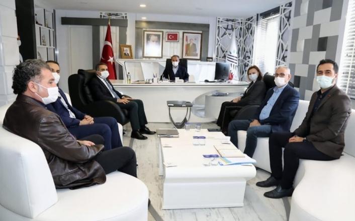 Çevre ve Şehircilik Bakanlığı Daire Başkanı Afşeören´den Kılınç´a ziyaret